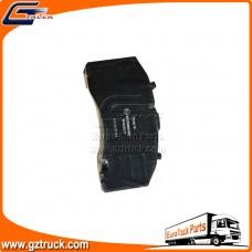 Brake pads  WVA 29171  MERCEDES 0044207020